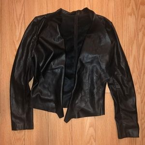BLACK JACKET SIZE L